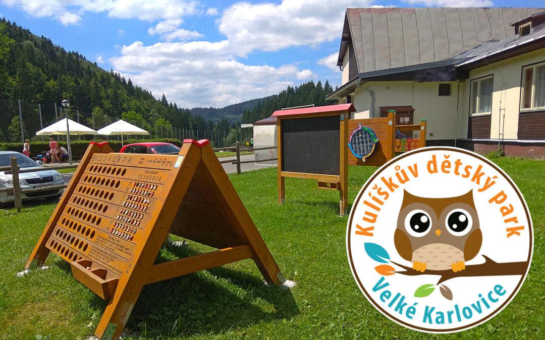 Velké Karlovice zahajují letní sezónu s novým Kulíškovým parkem